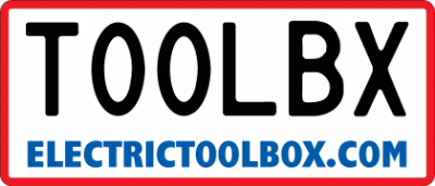 Electric Toolbox Message Plate