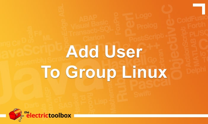 Add User To Group Linux