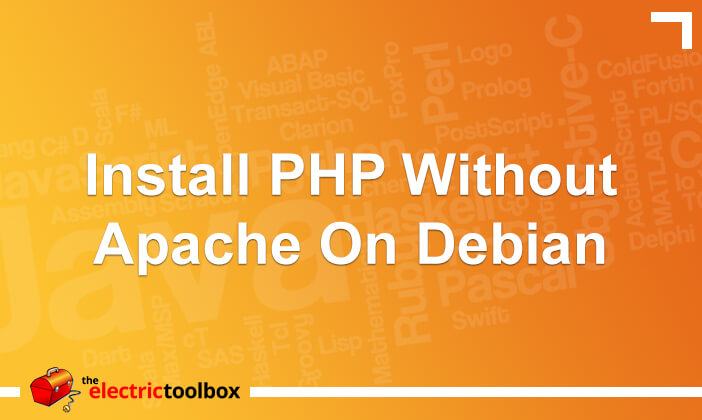 Install PHP without Apache on Debian