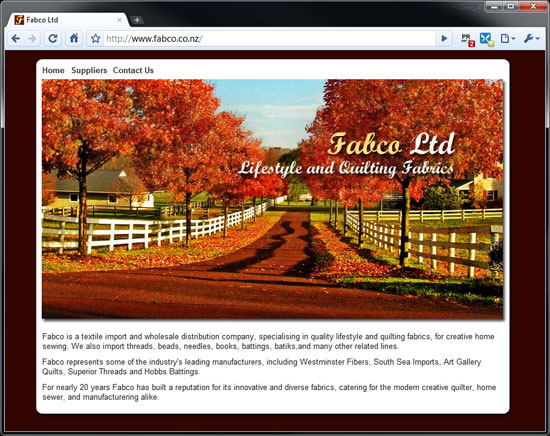 fabco ltd's homepage