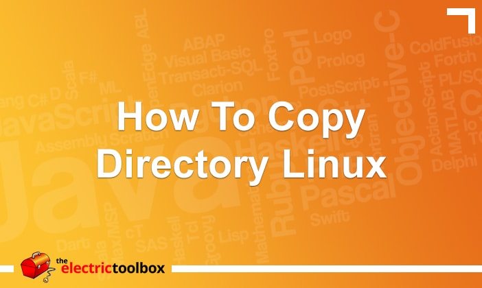 How to Copy Directory Linux