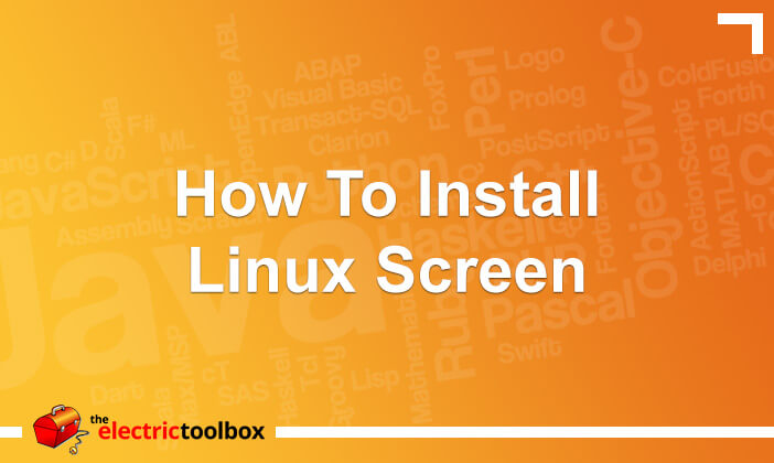 How to Install Linux screen