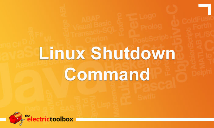 Linux shutdown command