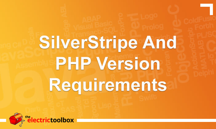 SilverStripe and PHP version requirements